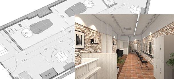 ヘアカラー専門店Angle(ヘアカラーセンモンテンエンジェル) デザインのご提案
