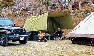 【余談編】Lofty代表の初キャンプ。